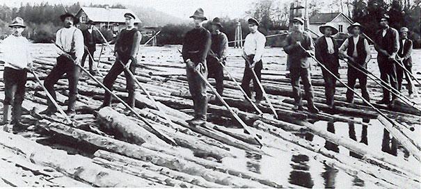 профессия - лесосплавщик