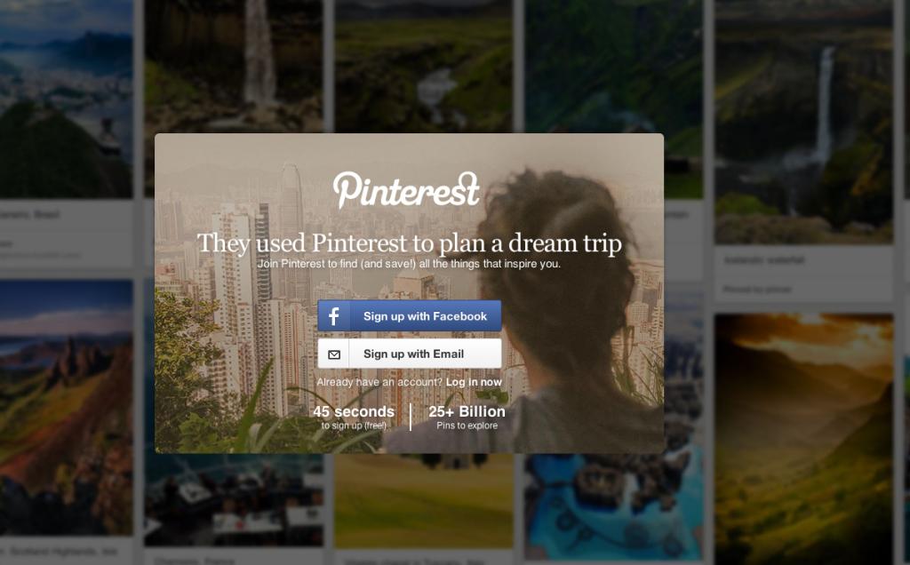 Pinterest: Создайте собственный результат