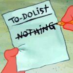 Шесть способов ничего не делать и быть продуктивным