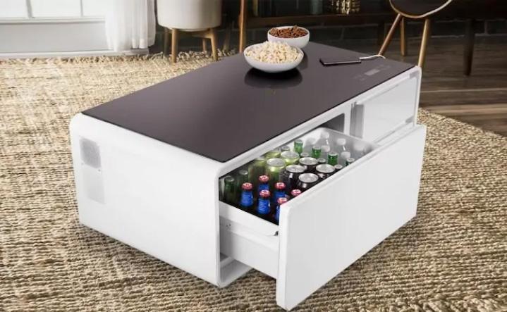 журнальный столик со встроенным холодильником