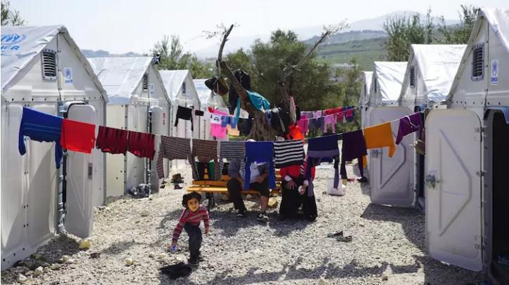 дома-приюты для беженцев от Икея
