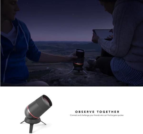 компактный смарт-телескоп